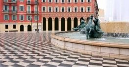 Massena Square in Nizza