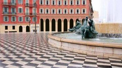Massena Square in Nizza