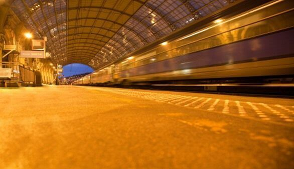 Bahnhof in Nizza