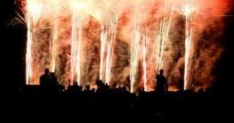 Feuerwerk in Nizza