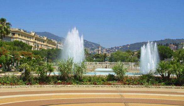 Park in Nizza