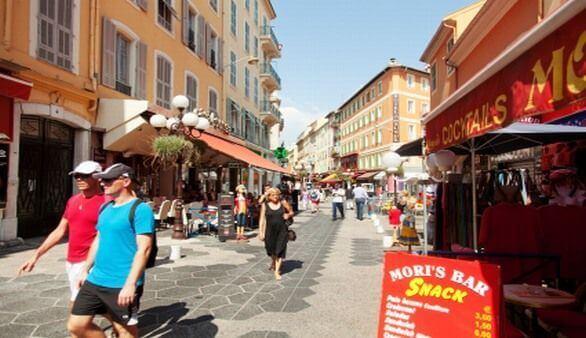 Shopping in Nizza