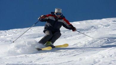 Skifahren in der Nähe von Nizza